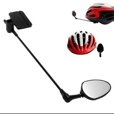 Useful Bike Helmet Rear View Mirror 360 Adjustable Universal Helmet Mirror CYQ