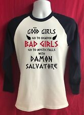 Good Girls go to heaven Baseball Top - inspired by Salvatore Vampire Diaries