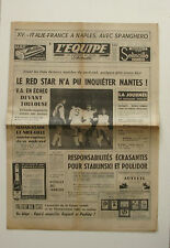 Journal l'Equipe n°6230 - 1966 - Red Star Nantes - Poulidor Stablinski - Stewart