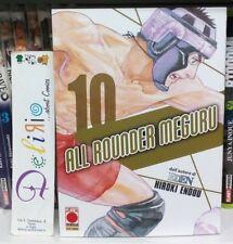 ALL ROUNDER MEGURU N.10 Ed. PLANET MANGA SCONTO 10%