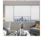 100% Blackout Roller Shades Waterproof Light Filtering UV Protect Window Shade
