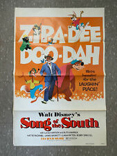 New ListingSong Of The South One Sheet Poster Disney