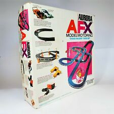 """Aurora AFX HO Scale Racing Set """"Stock Racers"""" 1971 Complete with SET CARS!"""