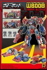 FANSPROJECT WARBOT WB008 TRIANIX ALPHA TRANSFORMERS NUOVO NEW