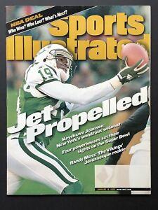 Keyshawn Johnson 1999 Sports Illustrated Magazine New York Jets NM/MT
