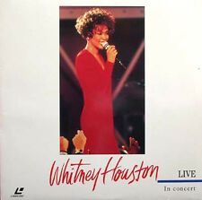 WHITNEY HOUSTON - In Concert Live   Laser Disc