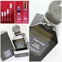 Tom Ford OUD WOOD EDP Authentic SAMPLE 1ml 2ml 3ml 5ml 10ml Glass Spray