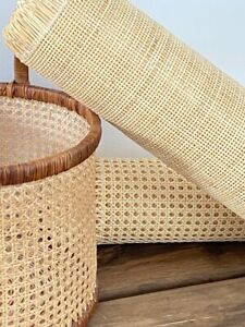 Cane webbing square mesh 6x6 rattan - 12/24/36/48/60/72 premium cane webbing