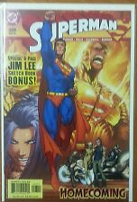 SUPERMAN #203 NM- MICHAEL TURNER CVR GODFALL 1 JIM LEE SKETCHBOOK 1 KEY COMIC
