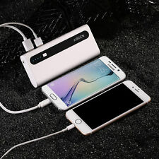AIBOCN 10000mAh Power Bank Dual USB External Portable Charger For Cell Phone