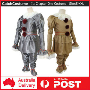 Stephen King's It Chapter Two Pennywise Cosplay Costume Halloween Dress Up Suit