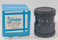 NOS - Spiratone Macrotel 150mm F4.5 T/T2 Mount Enlarging/Macro Bellows Lens