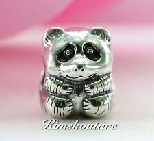 "Authentic PANDORA Charm Panda Bear #790490EN16   ""RETIRED"""
