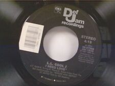 "L L COOL J ""I NEED LOVE / MY RHYME AIN'T DONE"" 45 NEAR MINT"