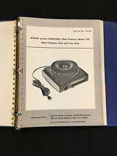 Lot of Kodak Pocket Carousel 100, 200, 300 Slide Projector Service Repair & More