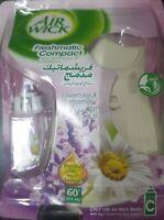 Air Wick Freshmatic Compact Auto Spray Purple Lavender & Chamomile + 1 Refil