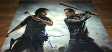 Andrew Lincoln As Rick Grimes The Walking Dead Signed 11x14 Photo COA 5 Proof