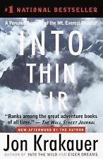Into Thin Air : A Personal Account of the Mt. Everest Disaster by Jon Krakauer (