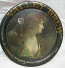 RARE ANTIQUE Pre-Prohibition Valley Brew Beer Tray El Dorado Brewing Stockton