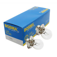 2 x Ampoule de lampe Bosma P26s 6V 15W Premium LAMPE BOULE certification E pour