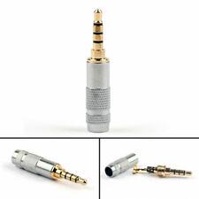 3.5mm 4Pole Stereo Jack Plug Audio Solder For Repair Headphone Eurasian Style US