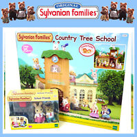 NEW SYLVANIAN FAMILIES COUNTRY TREE SCHOOL + SCHOOL FRIENDS COMBO DEAL 5105 5170