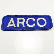 """Vintage Arco Gas Service Station Attendant Embroidered Patch 4.5"""""""