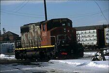 Canadian National 5268 - Original Slide - Edson, AB