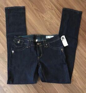 👑VINTAGE- DC SHOES INC. Dark Blue Skinny Jeans. Woman Size: 28