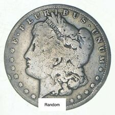 (1) Cull 1878-1904 Morgan Silver Dollar 90% Eagle Collection Bulk Lot Pre-1921