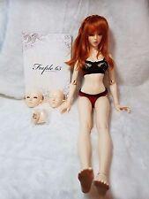 Fairyland Feeple 65 Chloe BJD + 3 wigs + Handmade Clothes