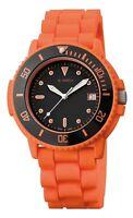 Herrenuhr M Watch by Mondaine LTD Aqua Orange Swiss Made Ronda Werk Schweiz  M23