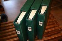 3 neuwertige Lindner-T-Vordruckalben Bund 1949-1993 mit Top-Bund-Sammlung (K1)