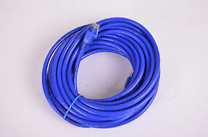 30' Cat 6 Network Cable, Blue