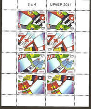 Aruba 2011 100 Year UPAEP flags MNH sheet