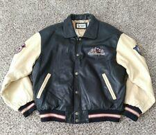 Walt Disney World 2000 Cast Exclusive Millennium Leather Jacket Large