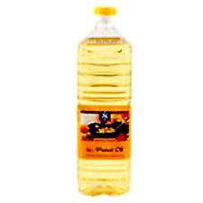 6 x 1 Liter Erdnussöl Peanut Oil Marke Heuschen & Schrouff Erdnuss Öl 100% rein