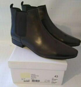 Kurt Geiger KG Harvey Men's Dark Brown Leather Chelsea Dealer Boots- CHOOSE SIZE