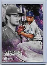 2018 Topps Yu Darvish Superstar Sensations Insert Card