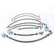 Turbo Oil Water Line For TOYOTA 1JZ-GTE 2JZ-GTE & Garrett GT30R GT35R Twin Turbo