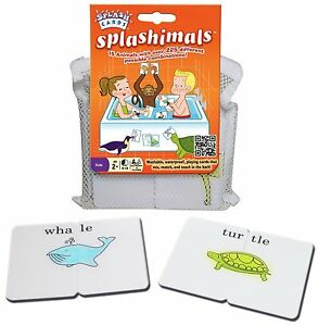Milliwik Waterproof Washable Floating Playing Cards Bath Pool Games Education
