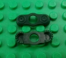 *NEW* Lego Dark Green Epaulettes Shoulder Pads Torso for Figs - 2 pieces