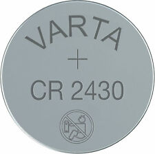 5 x Varta Lithium Button Cell Coin Battery CR2430 3v
