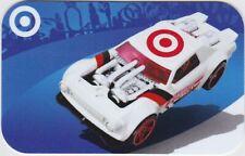 Target Hot Wheels Bullseye White Red Racer Sports Car 2018 Gift Card 790-01-2552