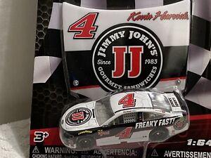 1:64 Kevin Harvick #4 Jimmy John's w/Plastic Hood Nascar Authentics 2018 wave 6