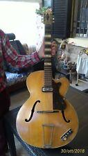 Chitarra HOFNER - 456 S E1 - Jazz - Acustica e Amplificabile - 1959