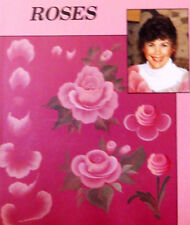 JACKIE SHAW ROSES ACRYLIC ART PAINT LESSON VHS VIDEO