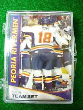 '04-05 ECHL Peoria Rivermen Team Hockey Card Set St Louis Blues ECHL Alaska Aces