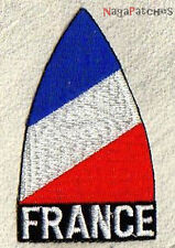Ecusson patche thermocollant drapeau France cocarde french / patch 192