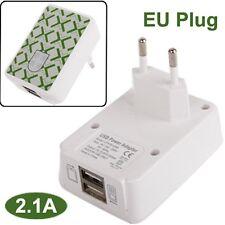 ADATTATORE DA RETE 220V 2X USB 2,1AMPERE per TABLET APPLE IPAD 2 3 4 NEW, MINI 2
